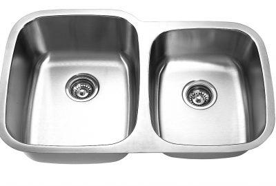 60/40 Sink – Min. Cabinet Size: 33″