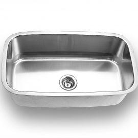 Large Single Bowl – Min. Cabinet Size: 33″