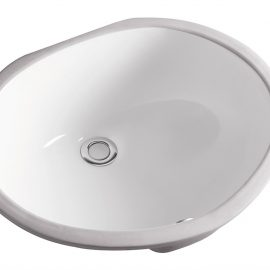 White Oval Sink – Min. Cabinet Size 21″ – Biscuit Color & Smaller Size Available