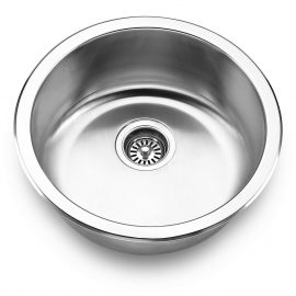 Round Bar Sink – Min. Cabinet Size: 18″